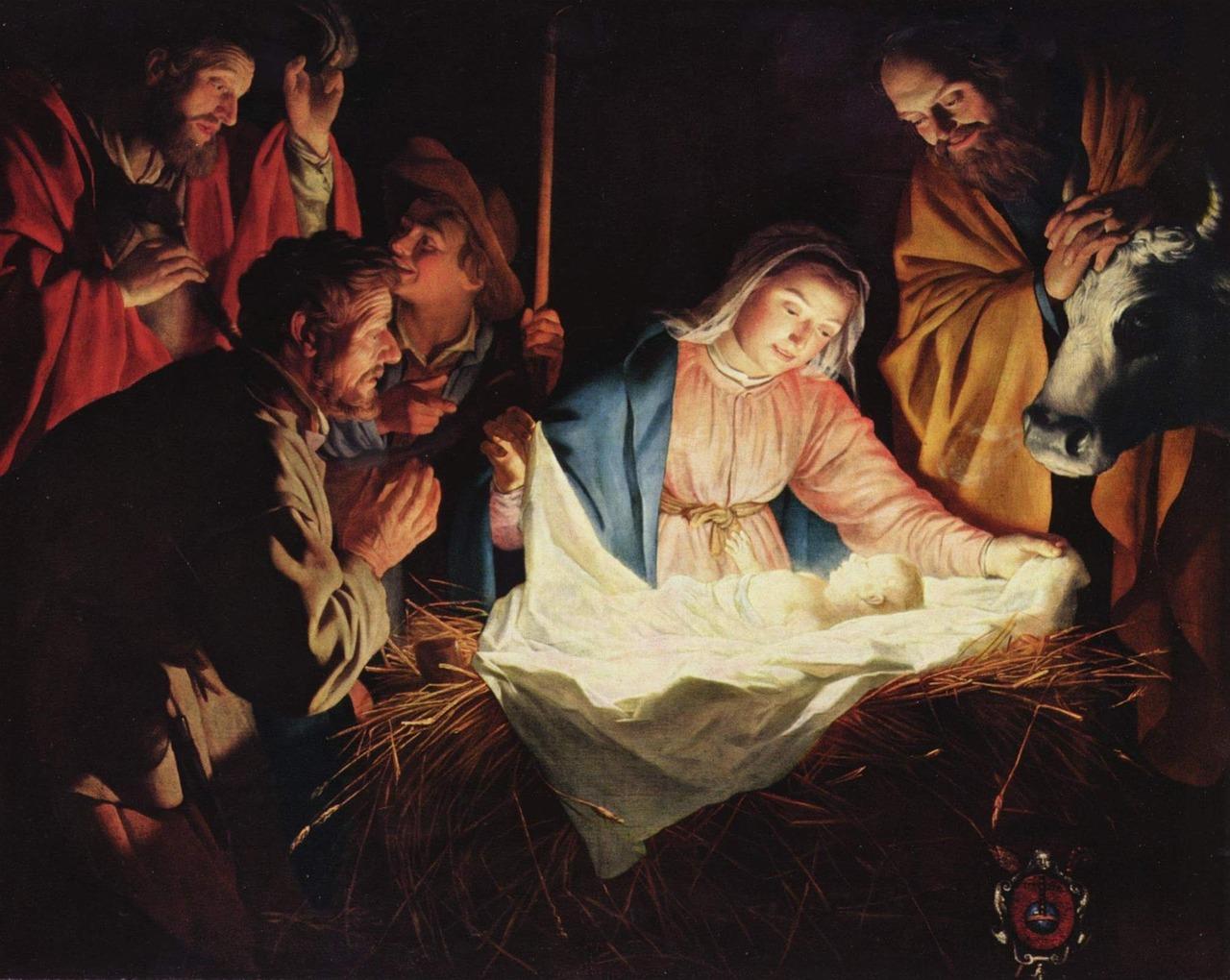 раждащия се Христос