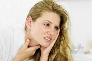 Простуда на гърлото