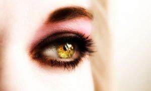 жълти очи