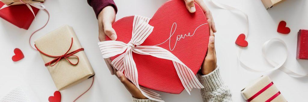 Свети Валентин - подарък