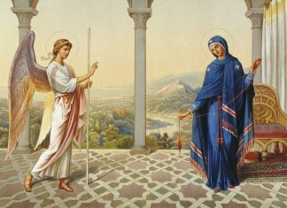 Благовещение, Ден на майката