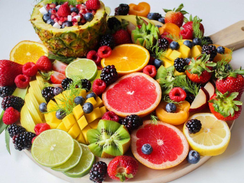 Храната привлича - кисели плодове