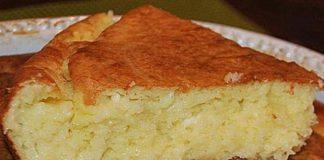 Бърза баница (солен кекс)