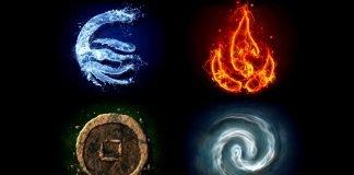Четирите елемента и зодиите