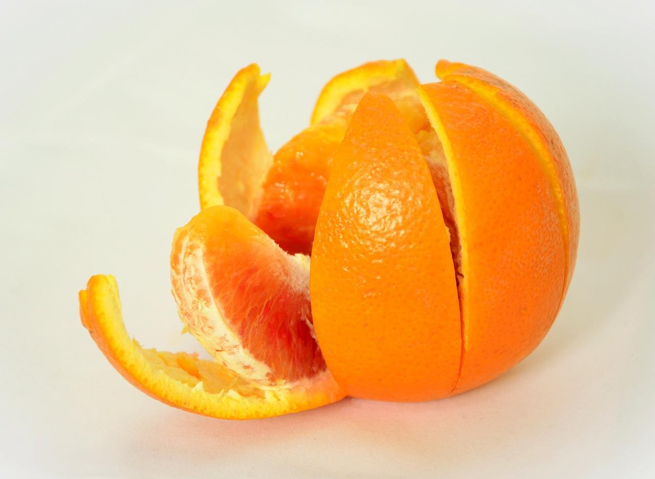 Пилинг с портокал