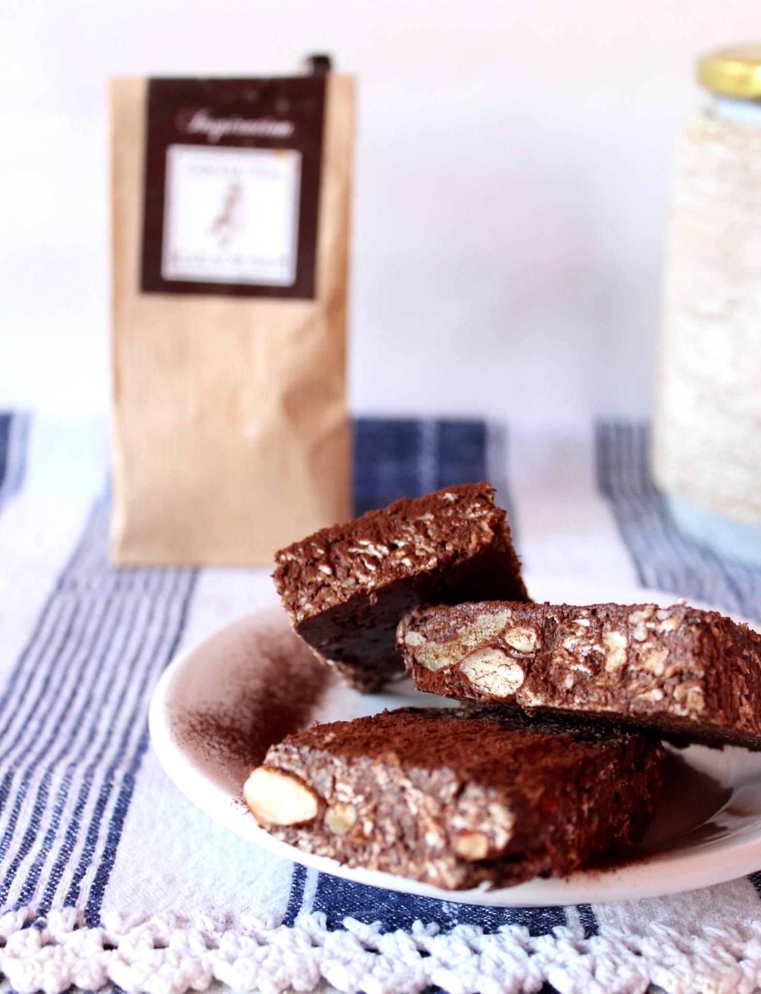 Сурови какаови енергийни блокчета