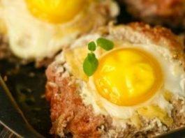 гнезда от кайма и яйца