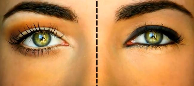 Направете очите си по-големи