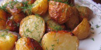 Пресни картофи на фурна