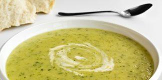 супа от тиквички и крема сирене