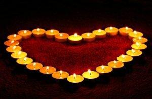 Въздействие на цветовете на свещите