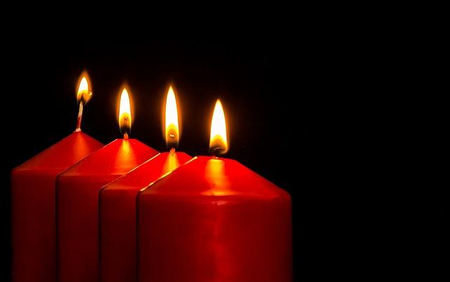 Въздействието на свещите зависи от цвета им