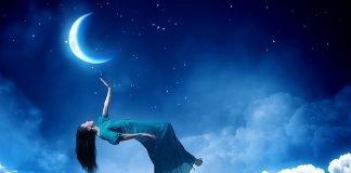 луната и сънищата