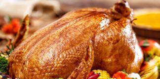 Печено пиле с гарнитура