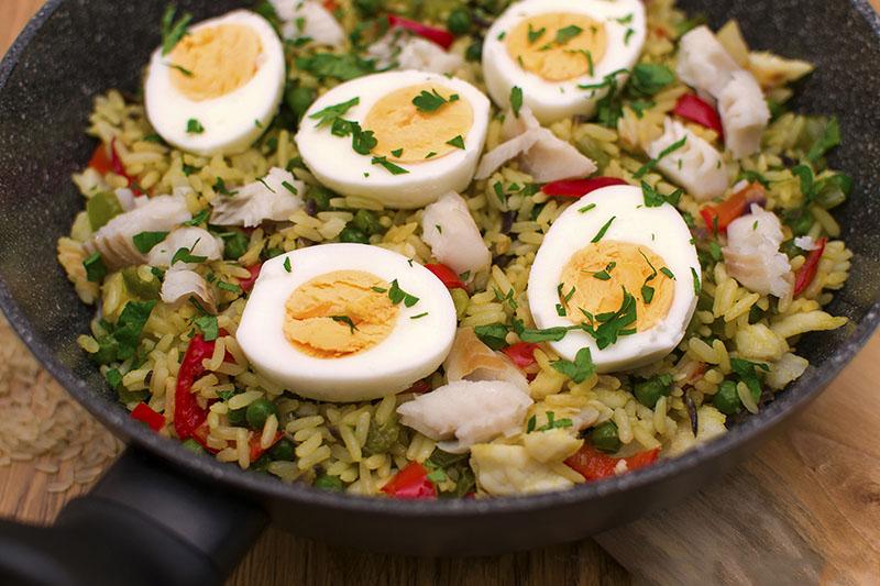 Кеджъри – оризово ястие с риба