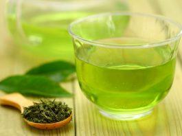 рецепта със зелен чай