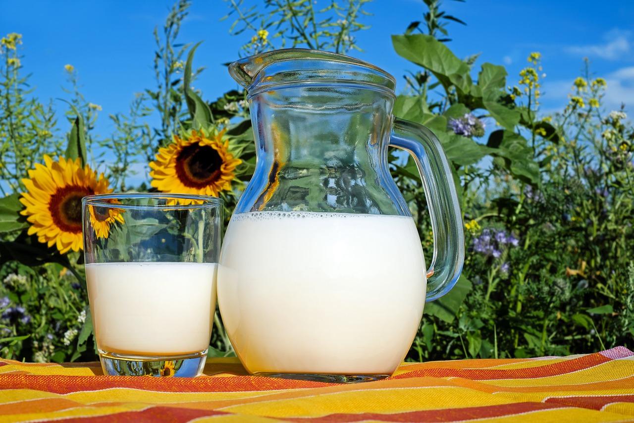 Кухня според зодиака - мляко