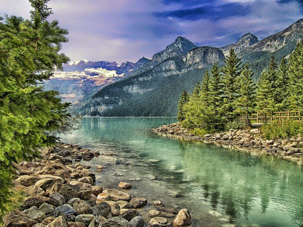 Лекове с езерна вода и горски въздух - вода