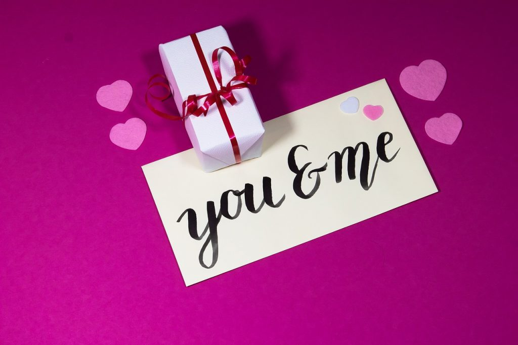 Подаръци на Свети Валентин