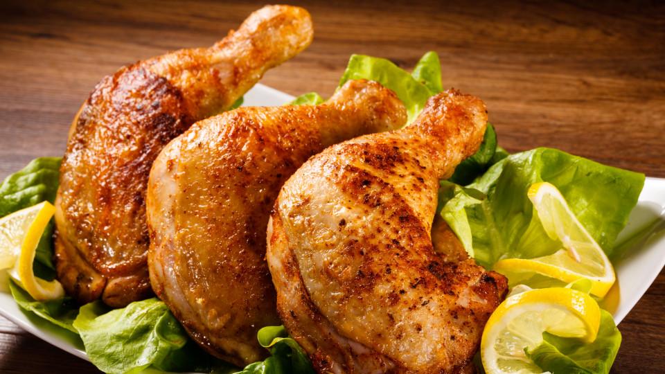 Пилешко в сос