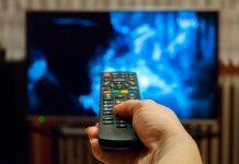 гледане на телевизия
