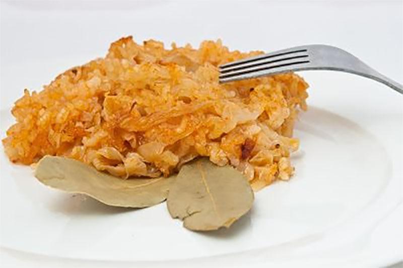 Кисело зеле с ориз