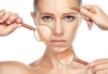 стареене на кожата на лицето