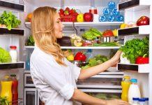 хладилникът и плодовете