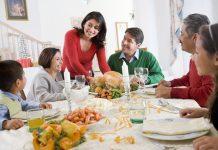 вечеря със семейството