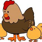 Съновник Кокошка, че мъти яйца