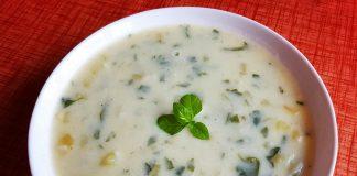 Млечно-картофена супа