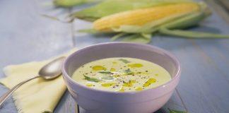 студена супа с царевица