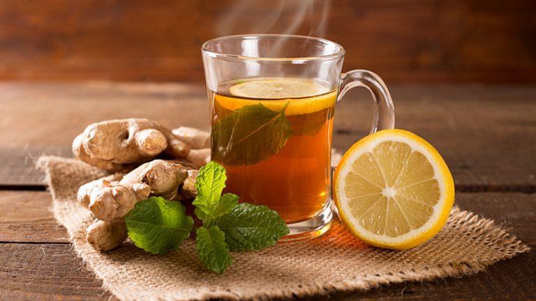 Защо да ядем тези храни заедно - Зелен чай и лимон