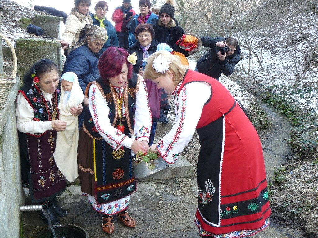 Бабинден - Обредни ритуали и трапеза