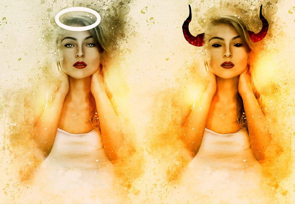 Ангели и дяволи в душата на Везни