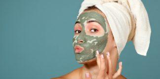 маска за лице - водорасли - спирулина