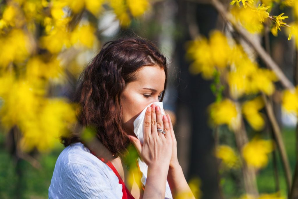 Пролетните алергии