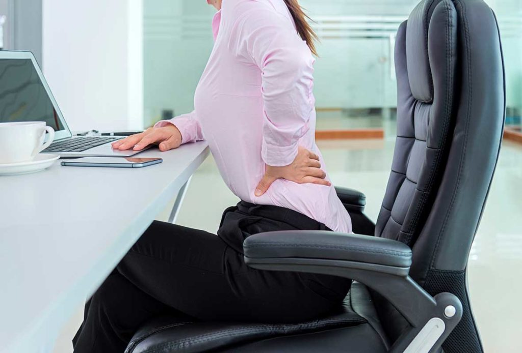 За парещата болка в гърба има много причини