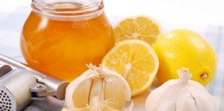 лимони, джинджифил и чесън