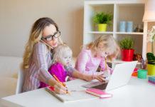 работа от вкъщи с малки деца