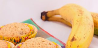 Бананови кексчета