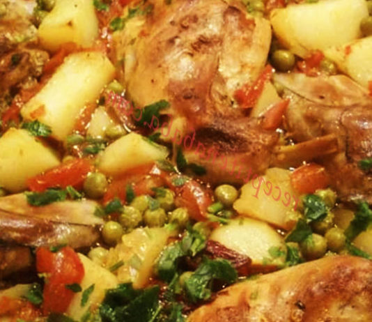 заешко със зеленчуци