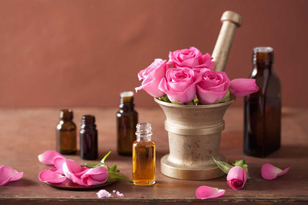 Ароматерапия и етеричните масла - розово масло