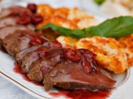 Телешко бон филе с мексикански сос