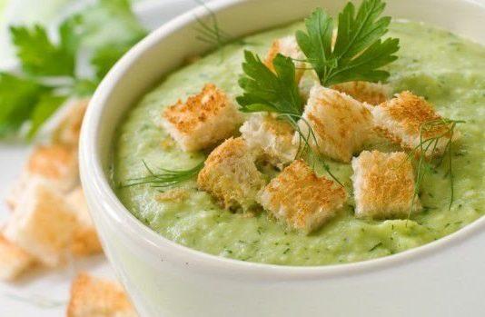 крем супа със зелен фасул