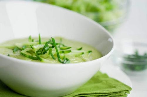 Студена супа с авокадо