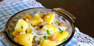 Финландска картофена салата