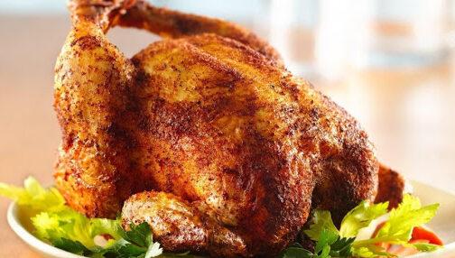 Печена кокошка
