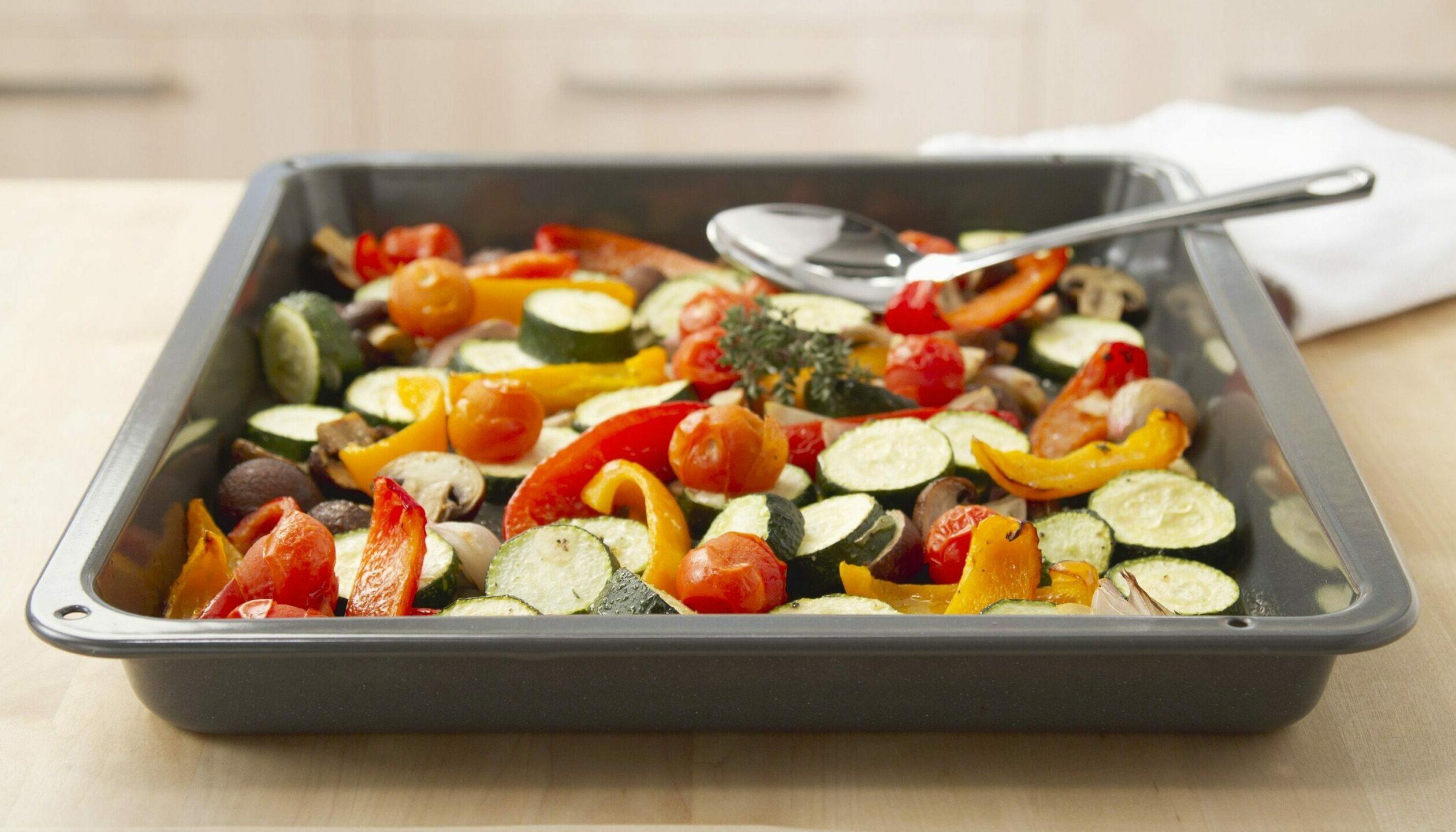 Зеленчуци печени в марината