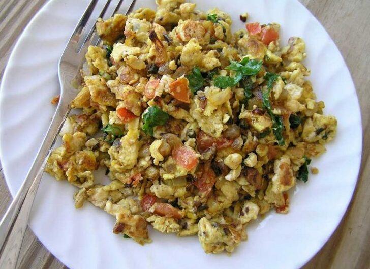 Саздърма с яйца